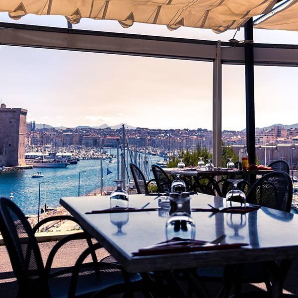 Le chalet du Pharo - Restaurant à Marseille dans les Jardins du Pharo